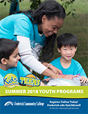 Youth Programs Summer 2018 Schedule-Icon